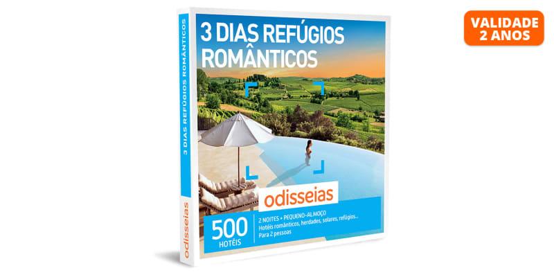 3 Dias Refúgios Românticos   500 Hotéis