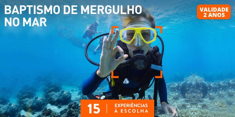 Baptismo de Mergulho no Mar | 15 Actividades à Escolha