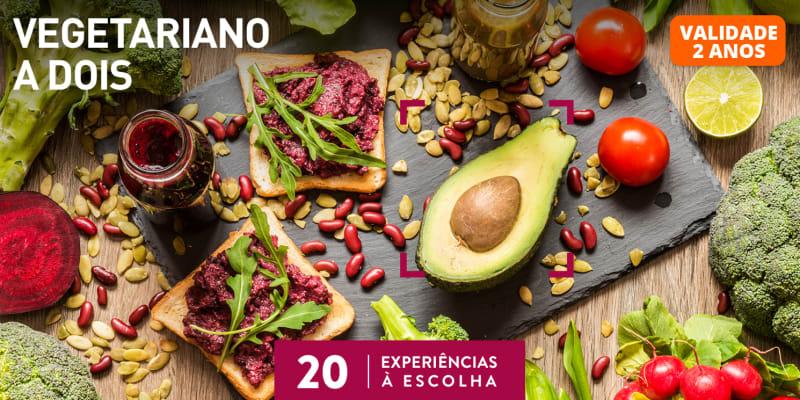 Vegetariano a Dois   20 Locais à Escolha