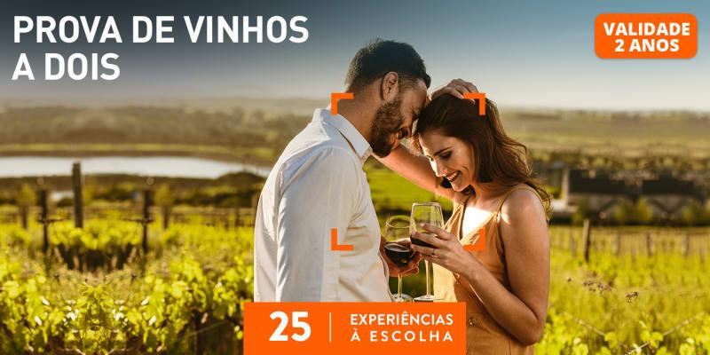 Prova de Vinhos a Dois   25 Experiências à Escolha