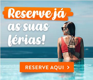 Reserve as suas férias