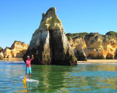 Óptimo para o Corpo e Mente! Stand-Up Paddle em Portimão - 1h30 | Future Eco Surf School - Portimão