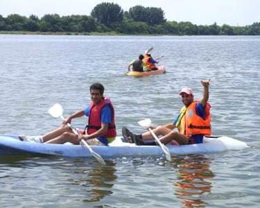 Canoagem no Estuário do Tejo 2h30   1 ou 2 Pessoas   Tagus Natura