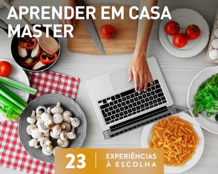 Aprender Em Casa - Master | 23 Experiências à Escolha