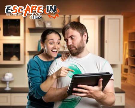 Escape in Home - 2 Escape Games à Escolha Sem Sair de Casa! Até 5 Pessoas
