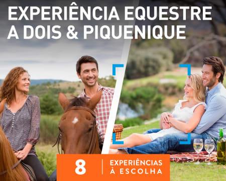 Experiência Equestre a Dois & Piquenique | 8 Experiências à Escolha