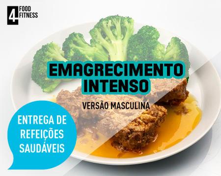 Entrega Grátis em Casa   Pack Emagrecimento Intenso Masculino - 15 Marmitas + 5 Saladas ou Sopas