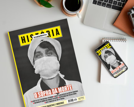 Subscrição de 1 Ano da Revista JN História - Papel + Digital | 6 Edições c/ Entrega Grátis