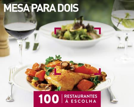 Mesa para Dois   100 Restaurantes à Escolha