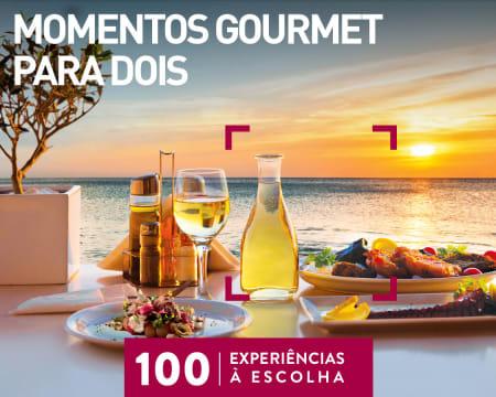 Momentos Gourmet para Dois   100 Experiências à Escolha