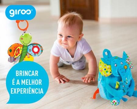 Conjunto Mochila Elefante + Libélula de Actividades para Bebés | Entrega Grátis