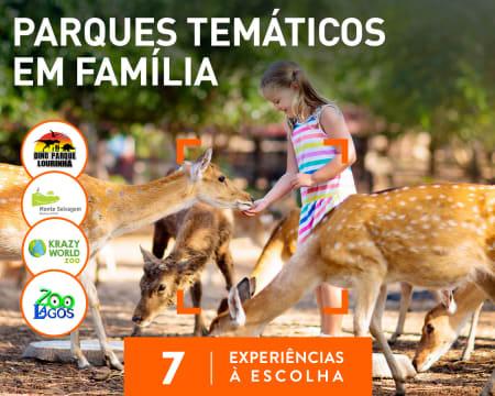 Parques Temáticos em Família   7 Experiências à Escolha