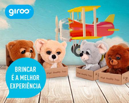 Conjunto de 6 Ursinhos e Ratinhos de Peluche Miniatura | Entrega Grátis