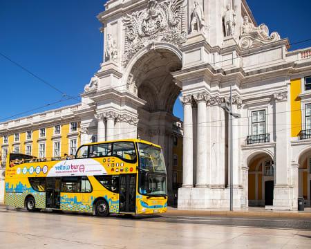Belém Lisbon Bus Tour! Do Centro de Lisboa a Belém em Autocarro Panorâmico | Yellow Bus