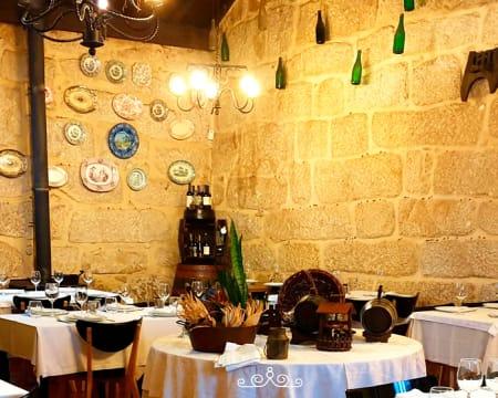 Comida Caseira & Tradicional em Restaurante Rústico para Dois | Casa D'Aldeia - Vila do Conde