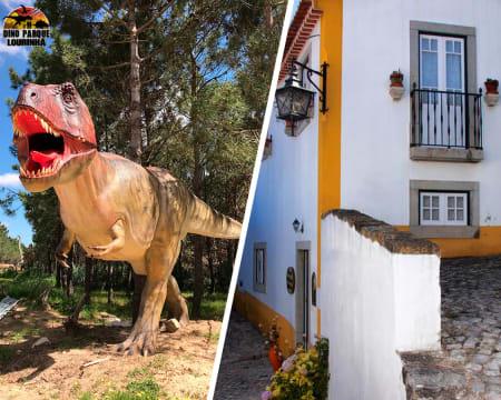 Casa de S. Thiago D´Óbidos - Óbidos | Estadia no Centro da Vila Medieval com Opção Entrada no Dino Parque