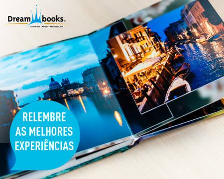 Álbum Digital Personalizável 30x20cm - 24 Páginas   Entregue em Casa   Dreambooks