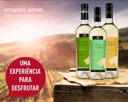 3 Garrafas Cabeça de Toiro DOC Branco - Edições Limitadas! Pack Prestige c/ Entrega Grátis | Enoport Wines