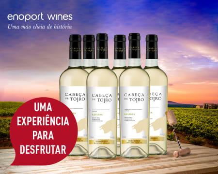 6 Garrafas Cabeça de Toiro Reserva DOC Branco | Entrega Grátis! Enoport Wines