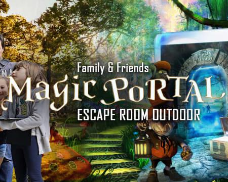 Escape Room Outdoor «Magic Portal»   Puzzles, Mistérios e Enigmas nas Ruas de Lisboa! Até 5 Pessoas
