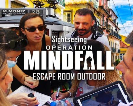Escape Room Outdoor «Operation Mindfall»   Operação de Espionagem Ultra-Secreta por Lisboa! Até 5 Pessoas