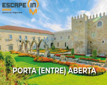 Escape in City - Braga | Encontre a Porta Mágica e Ajude os Guerreiros do Minho! Até 5 Pessoas