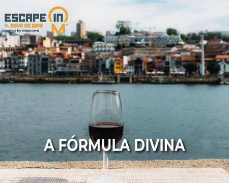 Escape in City - Vila Nova de Gaia | Descubra a Fórmula Divina! Até 5 Pessoas