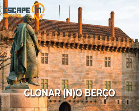 Escape in City - Guimarães | Siga as Ordens do Rei de Espadas e Salve a Cidade Berço! Até 5 Pessoas