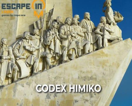 Escape in City - Lisboa | 2 Jogos à Escolha - «Codex Himiko» ou «Poetas - O INcontro» | Até 5 Pessoas