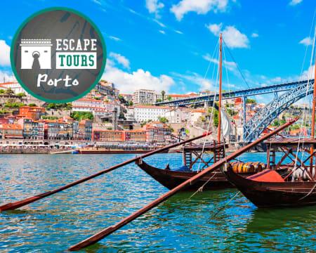 Escape Tour Outdoor - Porto | Os Illuminati Querem Destruir o «Codex Invicta»! Até 5 Pessoas