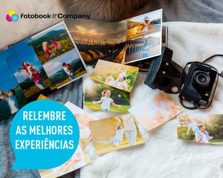 Impressão de 108 Fotografias em Papel Couché | Entregue em Casa
