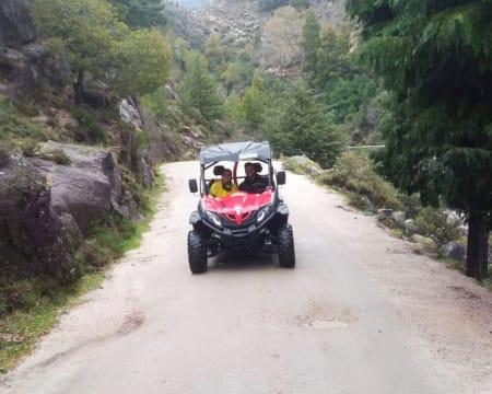 Passeio de Kartcross a Dois Junto ao Rio Cávado - 14 a 16 Maio   Gerês Rails