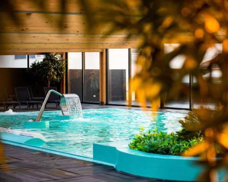 Hotel Cristal Vieira Praia & Spa 4* - Leiria   Estadia & Spa com Piscina Interior Dinâmica e Opção Entradas Aquaparque