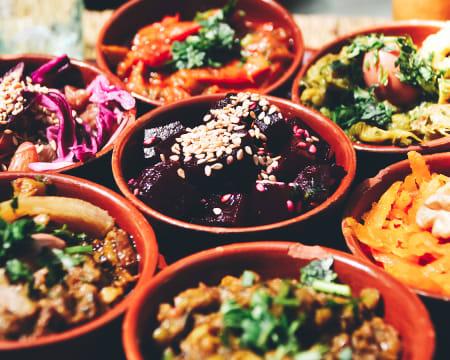 Aula de Culinária Vegetariana Online em Directo | Cozinhas do Mundo – Marrocos | Raquel Vida