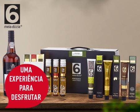 Cabaz meia.dúzia® - Entrega Grátis em Casa | 7 Produtos Genuinamente Portugueses