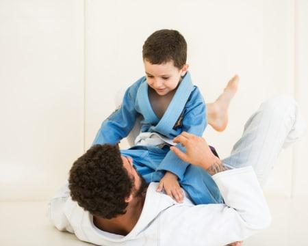 Aula de Jiu-Jitsu para Crianças Online em Directo - 1h | Flow Gym
