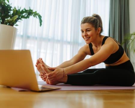Aula de Yoga Online em Directo - 1h   Academia de Yoga de Gaia