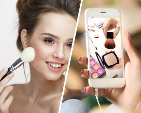 Aula de Maquilhagem Online em Directo - 1h | Elisabete Vieira da Silva Make Up Artist