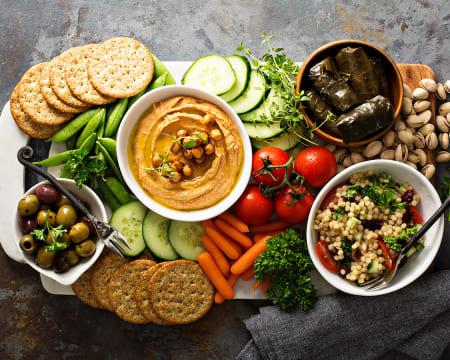 Aula de Snacks Vegetarianos Online em Directo | Receitas Simples e Saudáveis | Raquel Vida