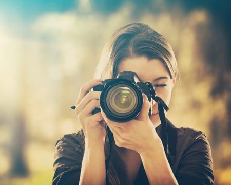 Aula de Fotografia em Grupo Online em Directo - 1h | Aprender a Usar a Máquina Fotográfica! Luz do Deserto
