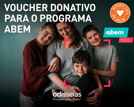Presentes para Ajudar! Voucher Donativo para o Programa Abem - Rede Solidária do Medicamento