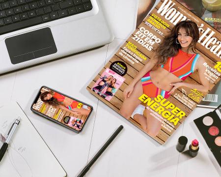 Subscrição de 1 Ano da Revista Women´s Health - Papel + Digital | 6 Edições c/ Entrega Grátis
