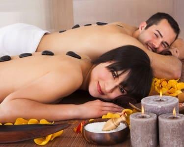 Massagem de Relaxamento Geotermal | 2 Pessoas - 1h | Centro Nutri Sana