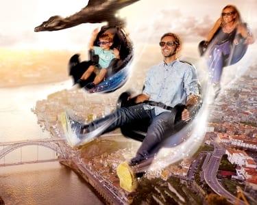 Cinema 5D para 2 Adultos + 2 Crianças   Look at Porto