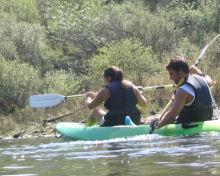 Kayak em Almourol para 2