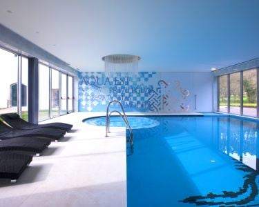 Circuito Águas c/ Massagem Ayurvédica | 2 Pessoas | Duecitânia Design Hotel