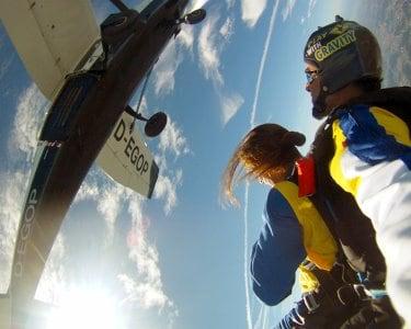 Salto Tandem Proença-a-Nova   1 Pessoa   Sky Fun Center