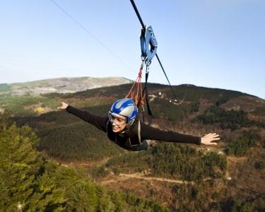 Slide e Fantasticable | 1 Pessoa - 1h | Pena Aventura Park