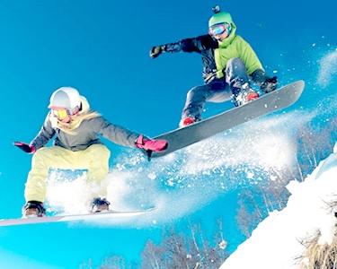Aula de Ski ou Snowboard   2 Pessoas - 2h   Skiparque
