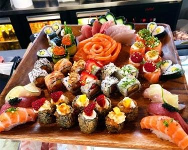 Miyabi Sushi | Cozinha Japonesa em 50 Peças